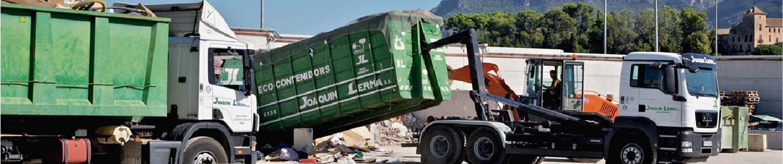 contenedores escombros